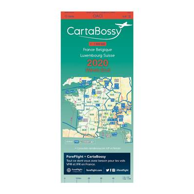 CARTE BOSSY VFR 2020 WEEK-END